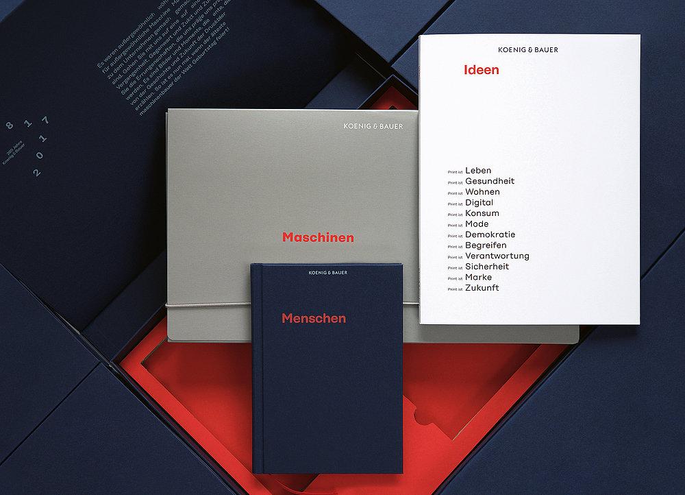 Koenig & Bauer – Menschen, Maschinen, Ideen   Red Dot Design Award