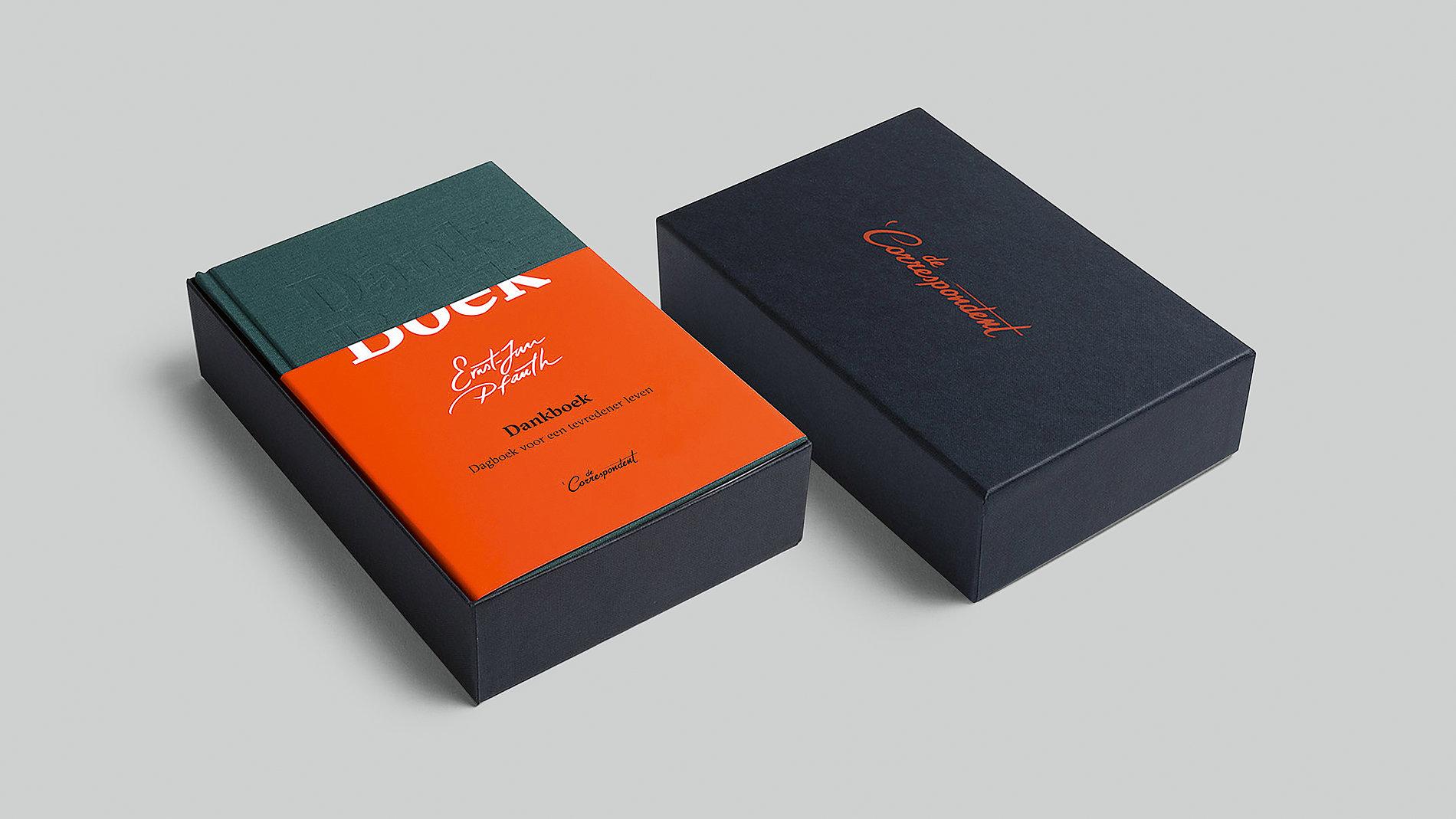 De Correspondent Dankboek | Red Dot Design Award