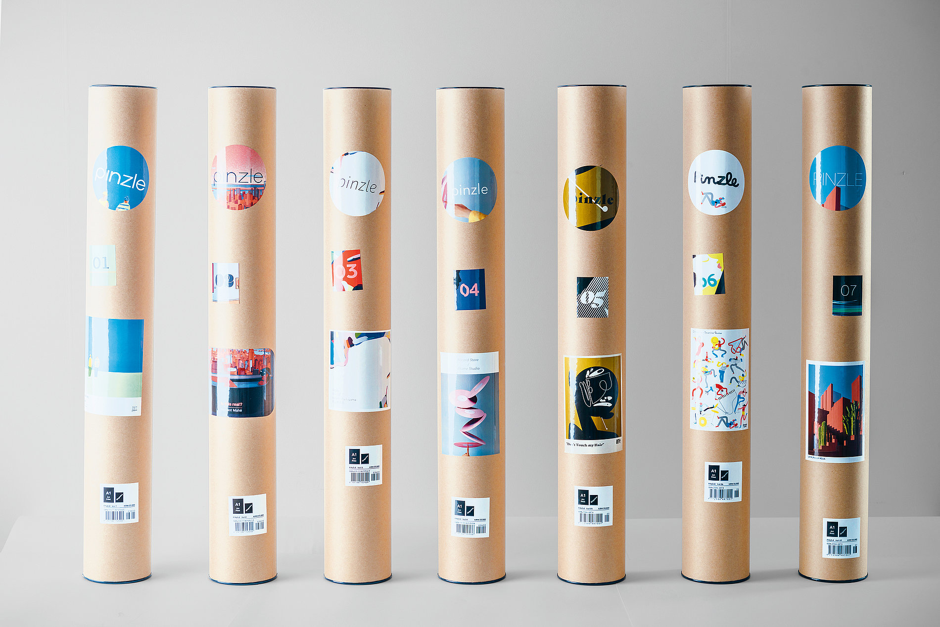 Pinzle – Monthly Artwork | Red Dot Design Award