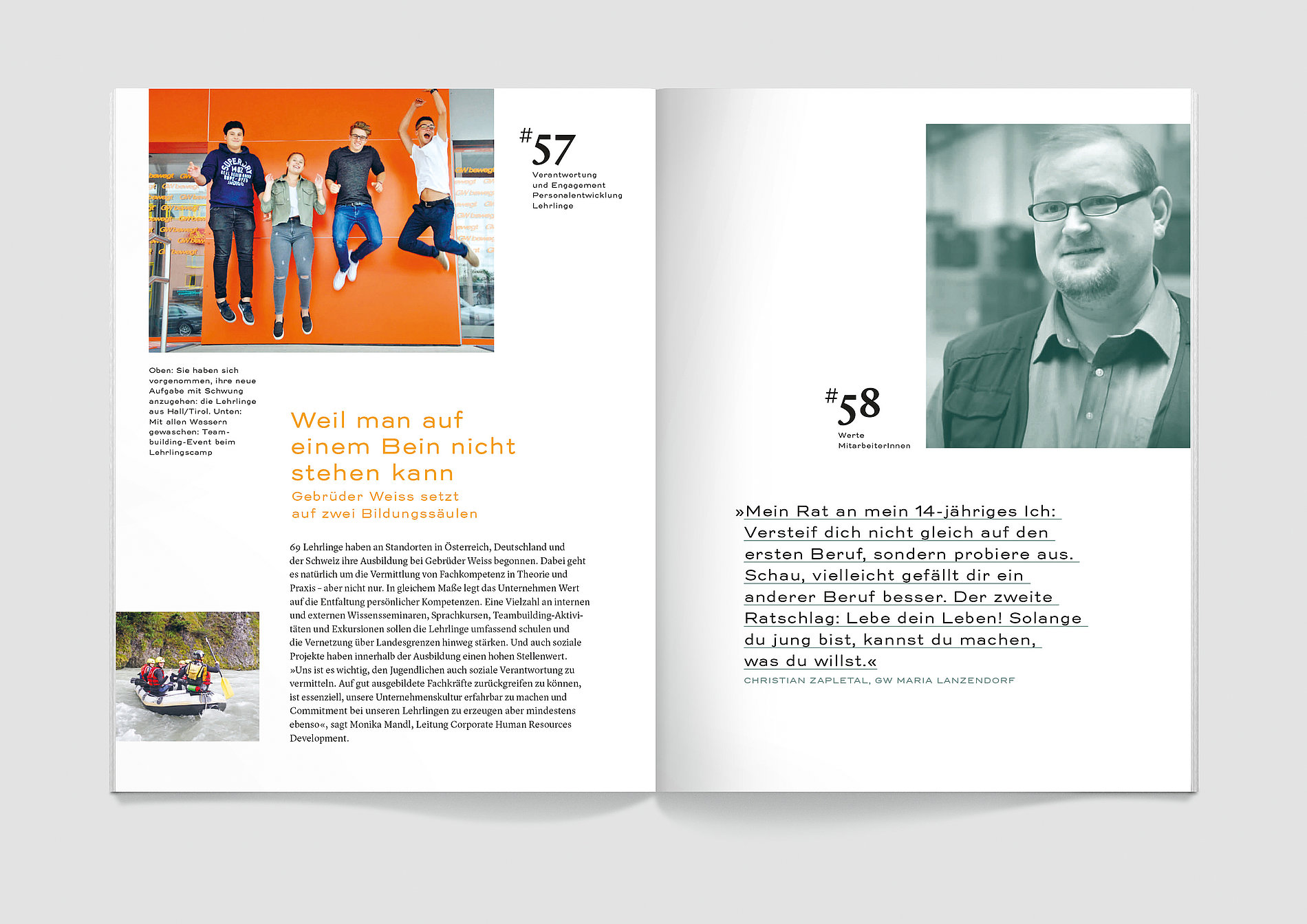 Gebrüder Weiss Annual Report 2017 | Red Dot Design Award