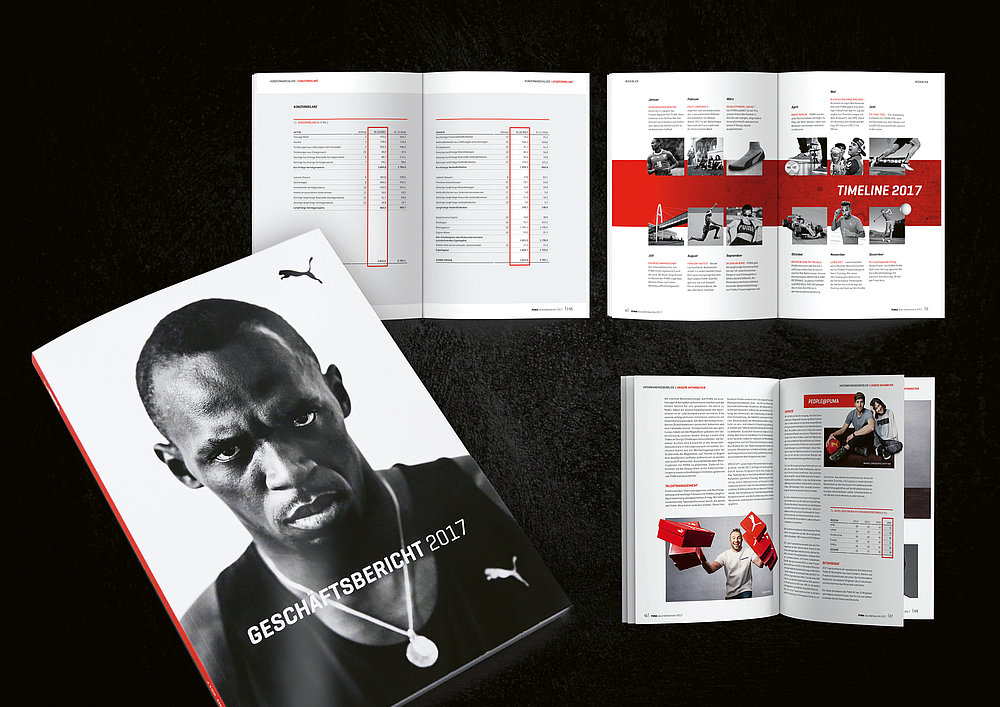 PUMA Annual Report 2017 | Red Dot Design Award