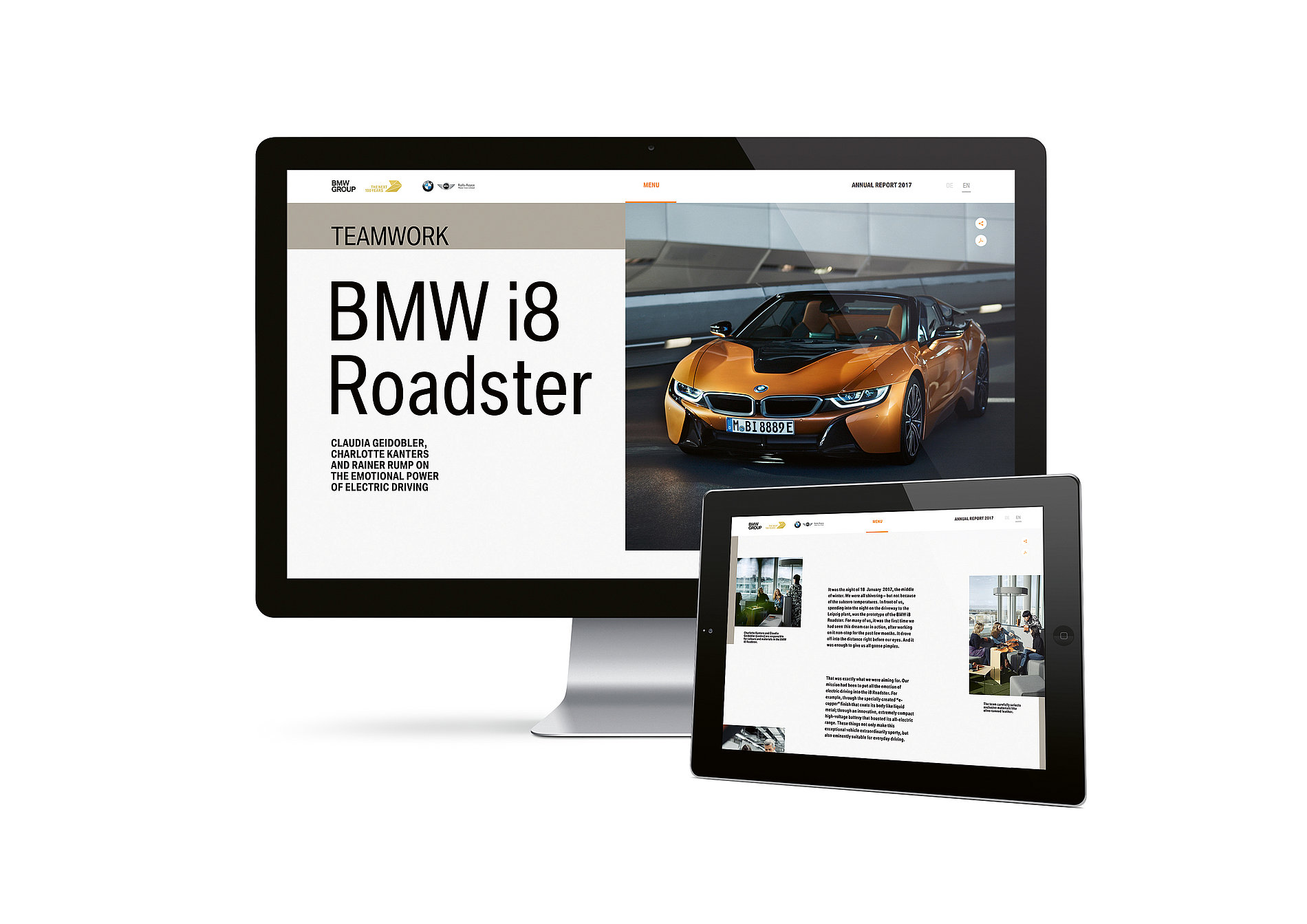 BMW Group Annual Report 2017 | Red Dot Design Award