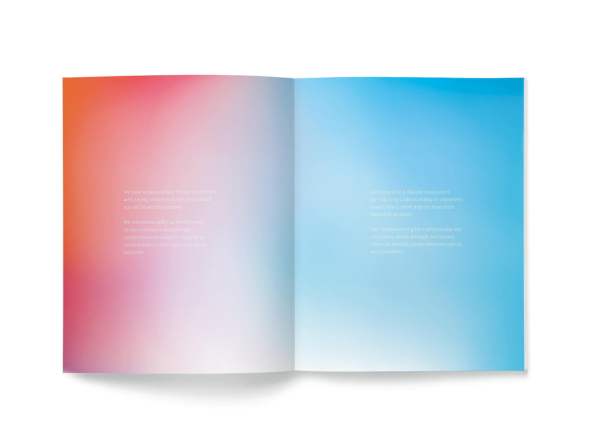 Samsung Fire & Marine Insurance Annual Report 2016 | Red Dot Design Award