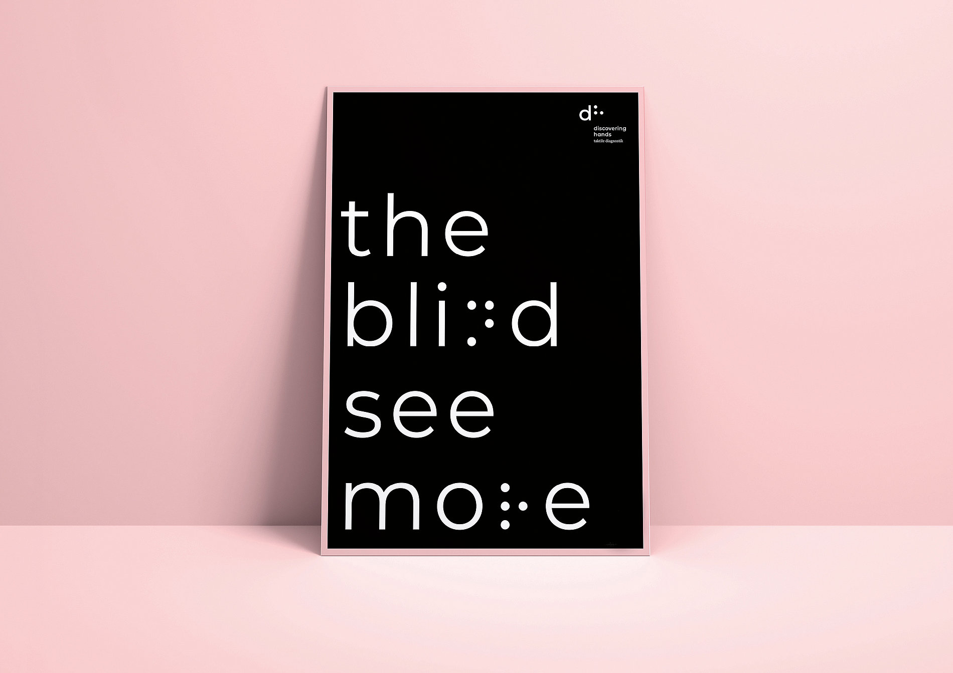 The Blind See More | Red Dot Design Award