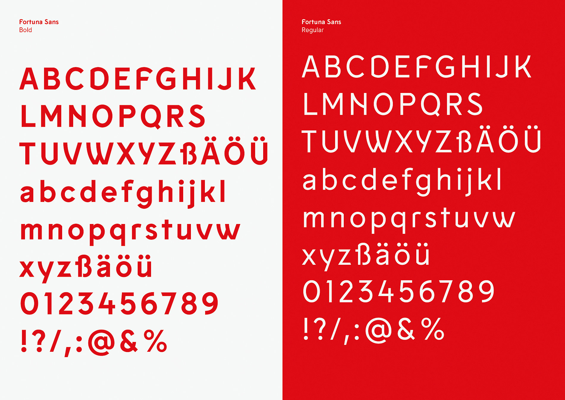 Fortuna Sans | Red Dot Design Award