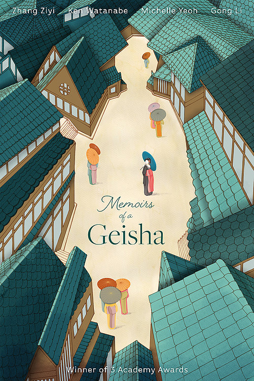 Memoirs of a Geisha | Red Dot Design Award