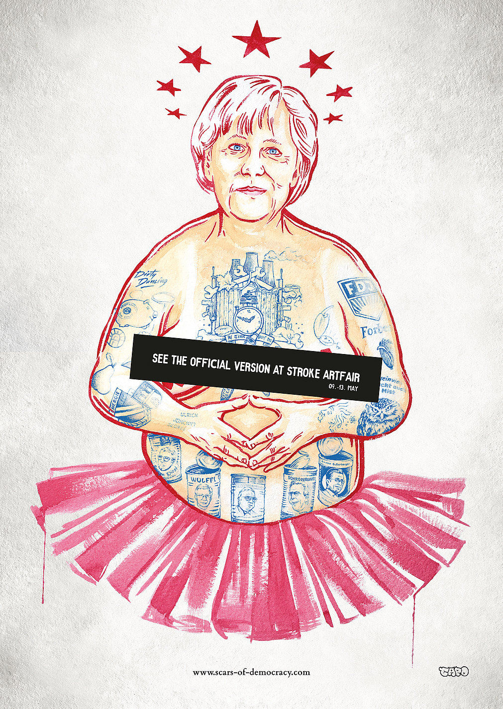 Scars of Democracy | Red Dot Design Award