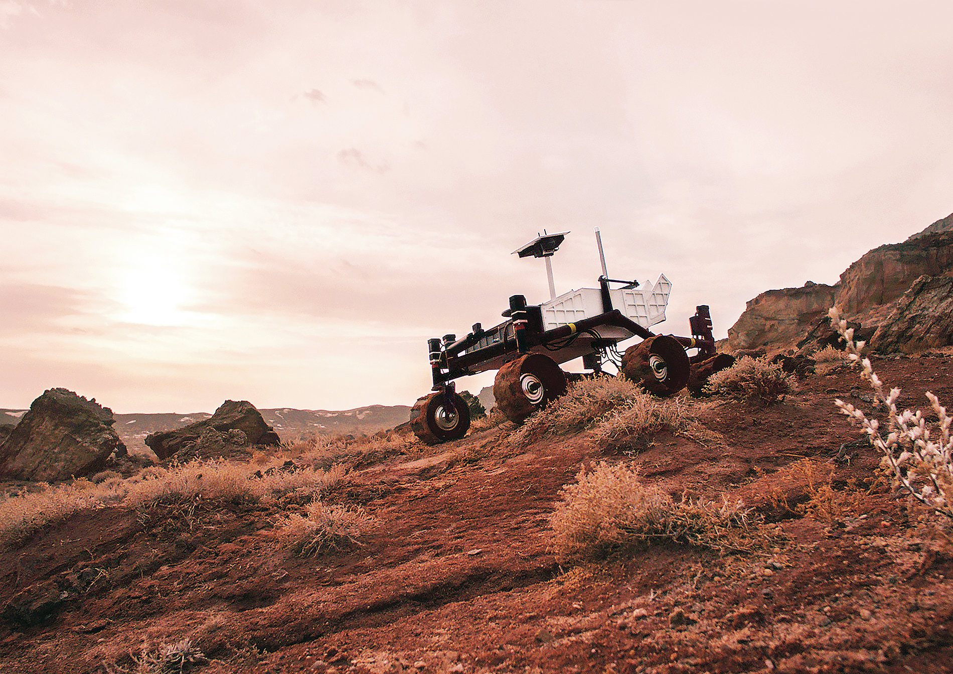 EARTH7 – The Space Rover Destined for Earth | Red Dot Design Award