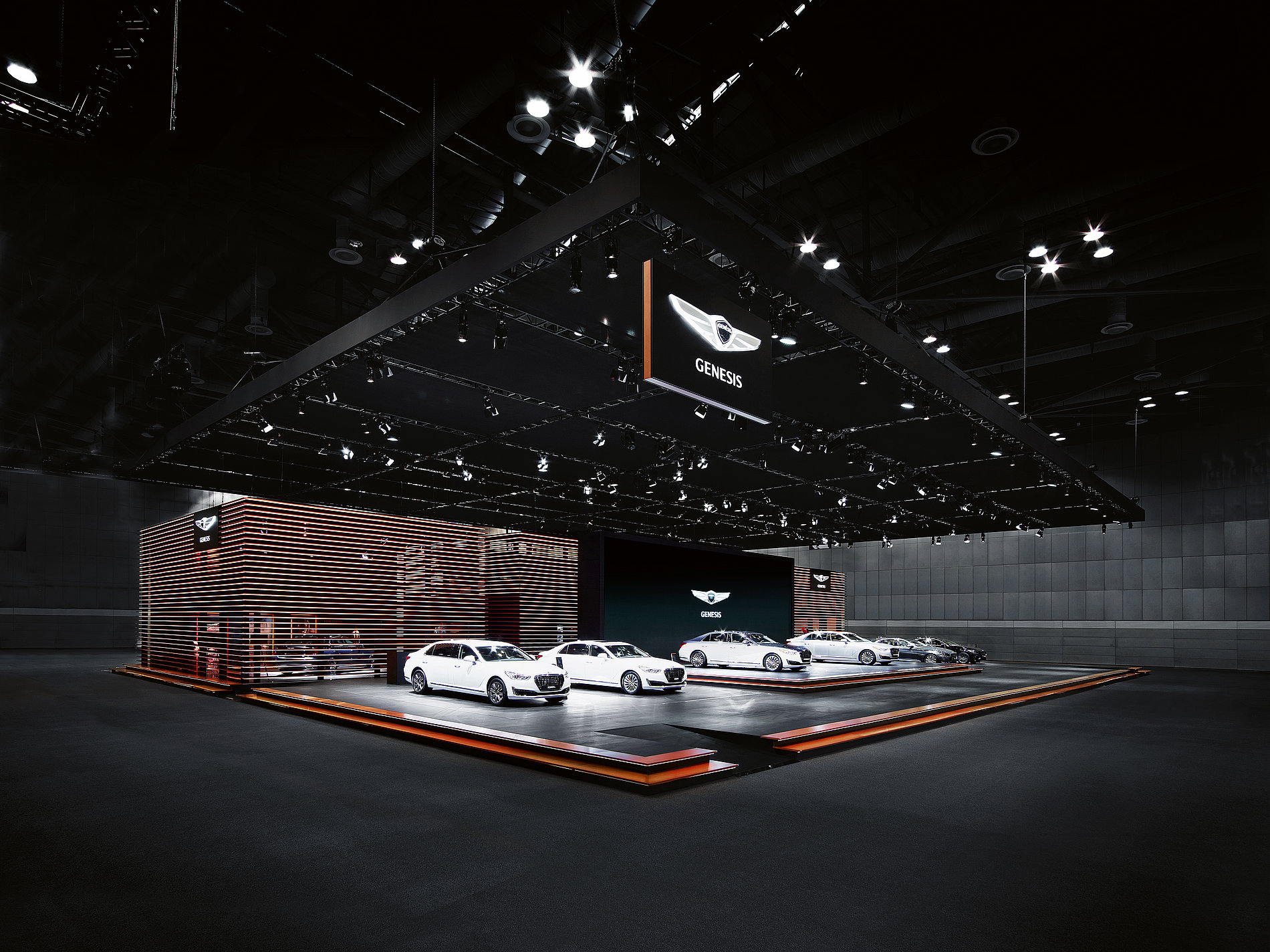 Genesis Fair Stand Seoul Motor Show 2017   Red Dot Design Award
