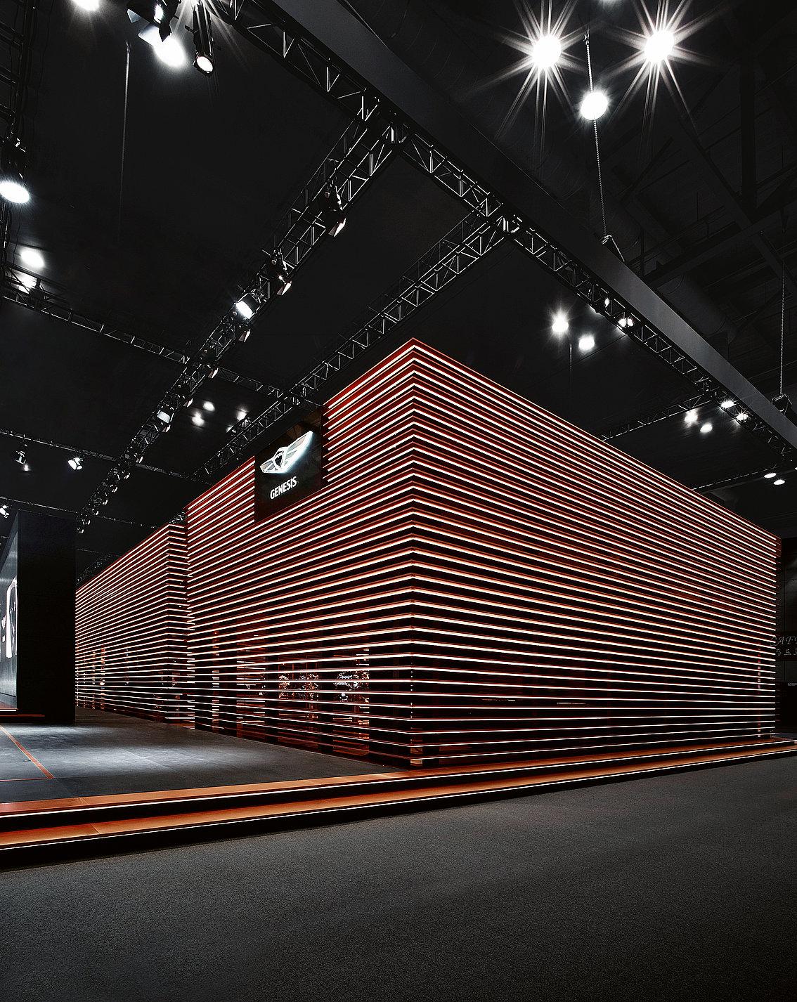 Genesis Fair Stand Seoul Motor Show 2017 | Red Dot Design Award