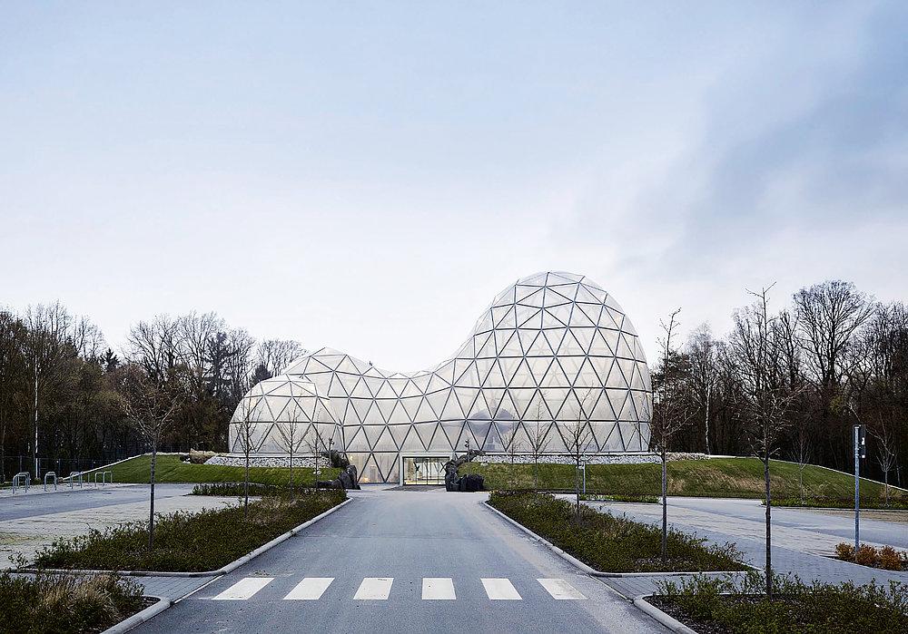 Dinosaur Theme Park Entrance Building | Red Dot Design Award