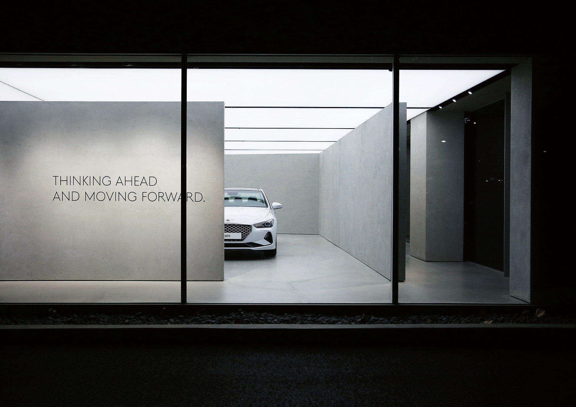 Genesis Gangnam Showroom | Red Dot Design Award