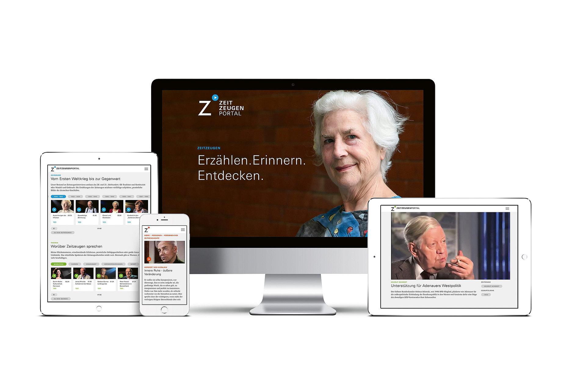 zeitzeugen-portal.deErzählen. Erinnern. Entdecken.   Red Dot Design Award