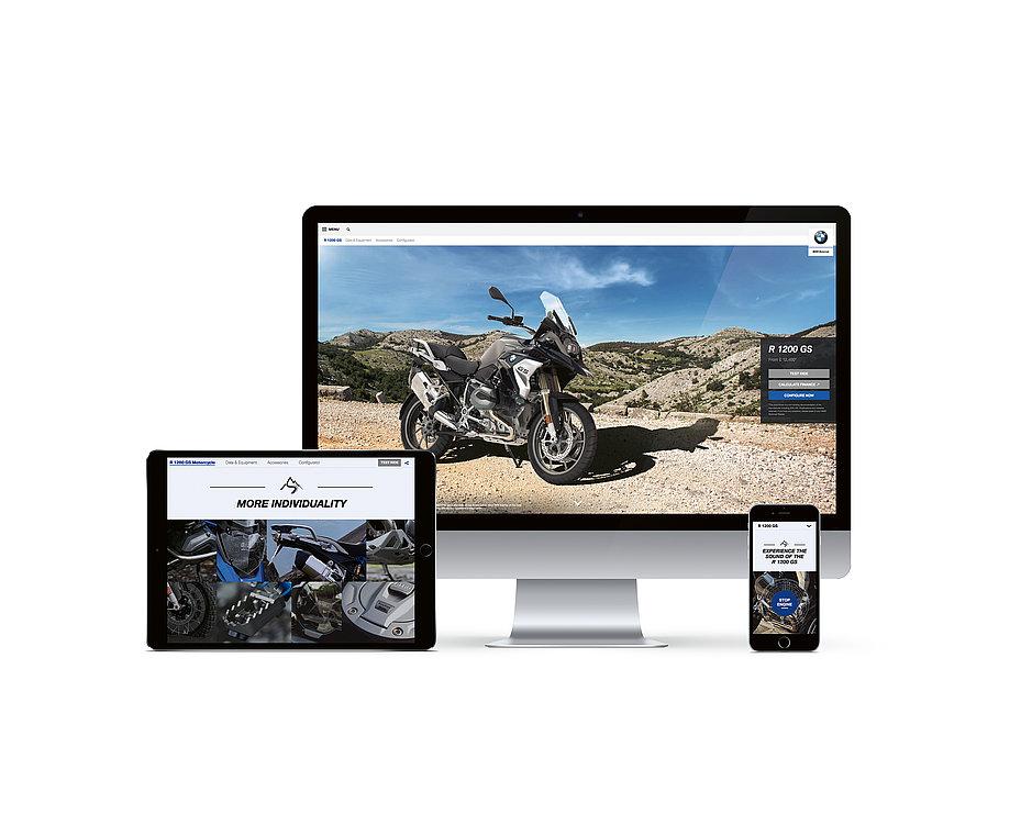 BMW Motorrad Digital Brand & Product Experience | Red Dot Design Award