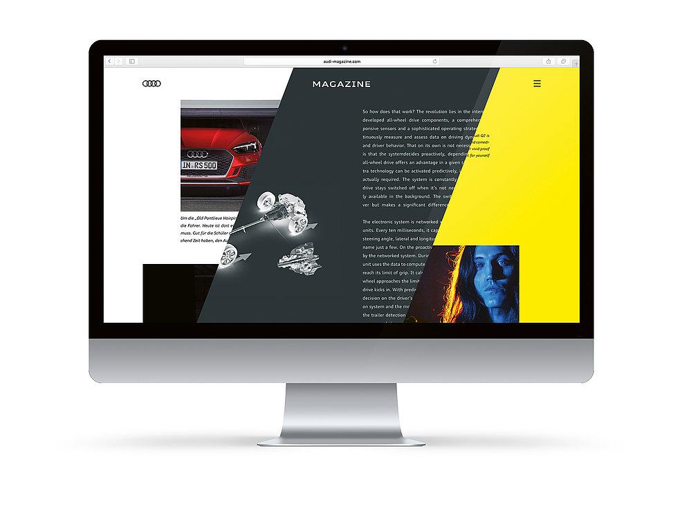 Audi Magazine | Red Dot Design Award