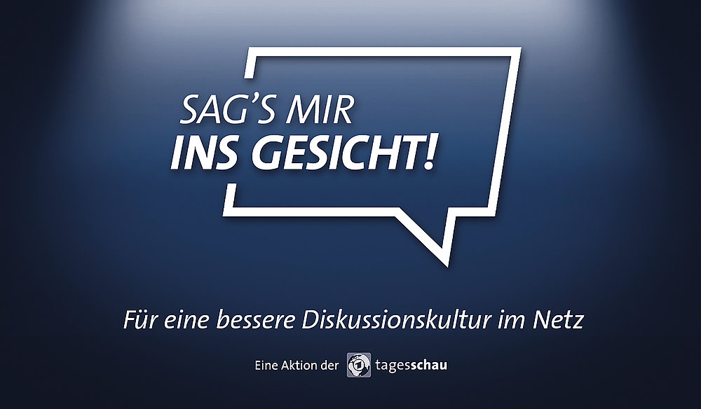 Tagesschau – Sag's mir ins Gesicht! | Red Dot Design Award