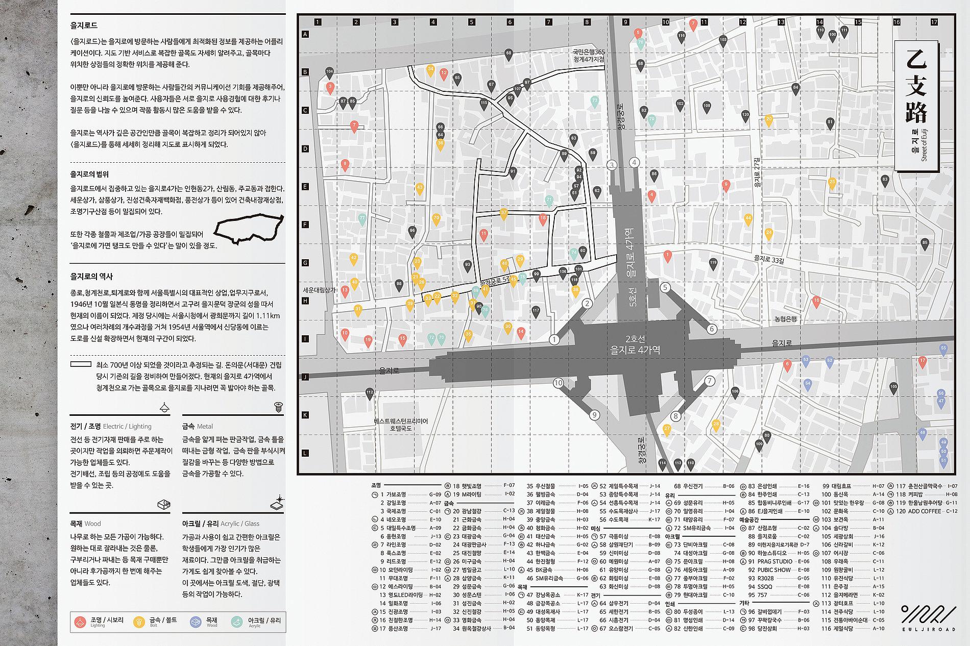 Eulji Road App | Red Dot Design Award