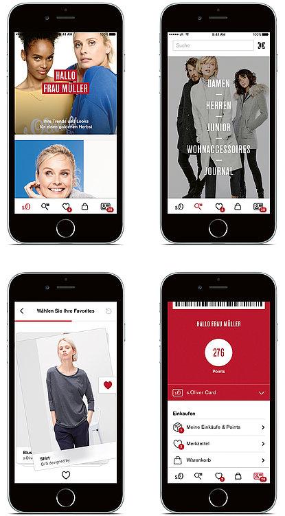 s.Oliver Fashion App | Red Dot Design Award