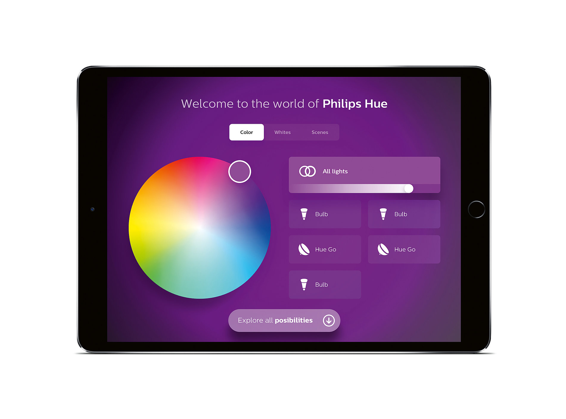 Philips Hue In-Store App | Red Dot Design Award
