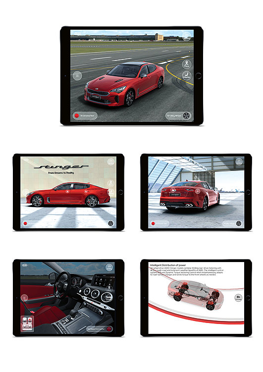 Kia Stinger | Red Dot Design Award