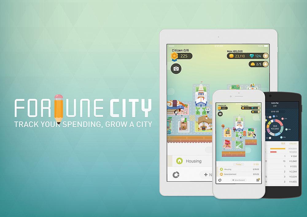 Fortune City | Red Dot Design Award
