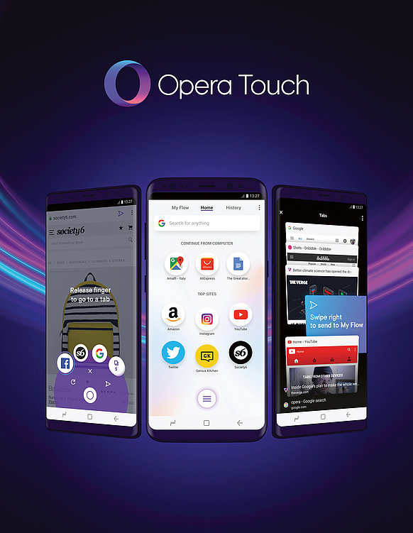 Opera Touch | Red Dot Design Award
