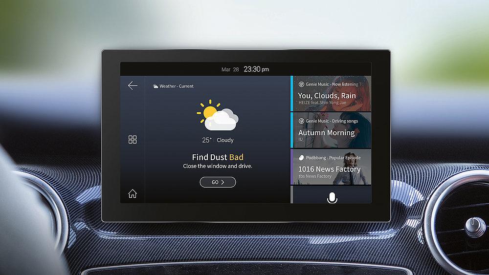 LG U+ Connected Car | Red Dot Design Award
