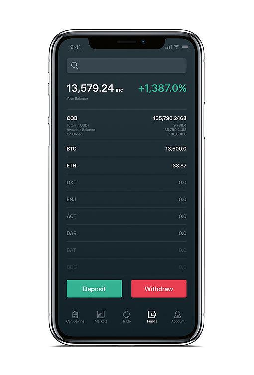 COBINHOOD Crypto Exchange | Red Dot Design Award