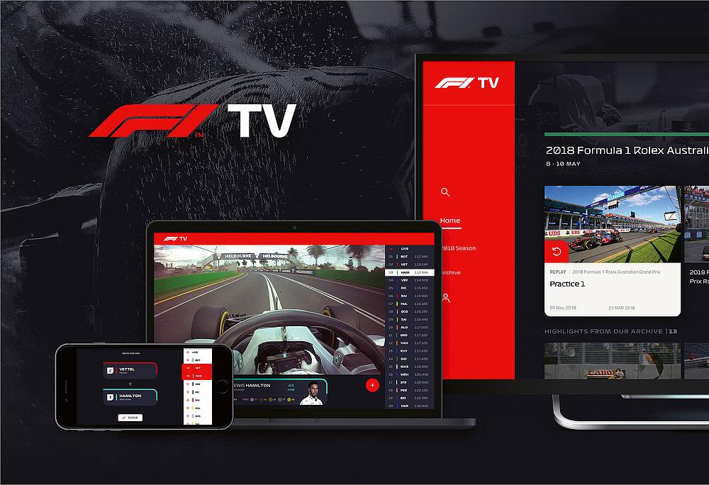 F1 TV | Red Dot Design Award