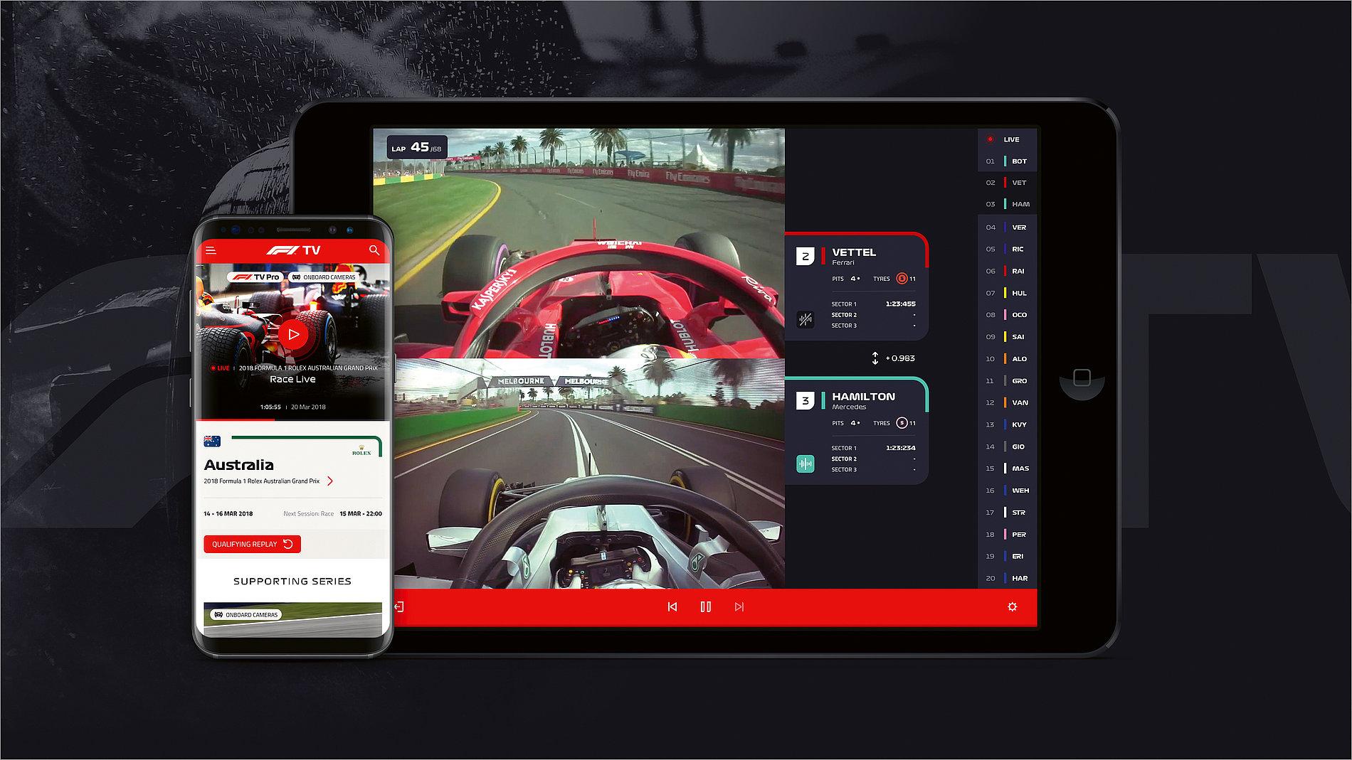 Red Dot Design Award: F1 TV