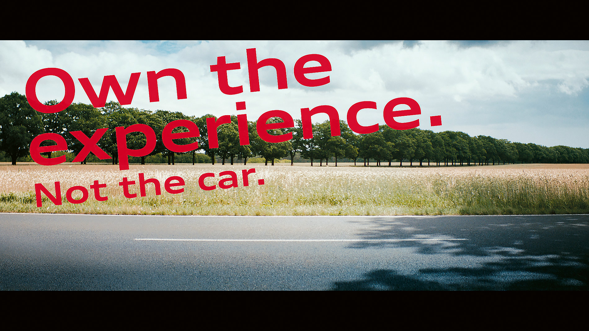Audi on demand – Own the Experience. Not the Car. | Red Dot Design Award