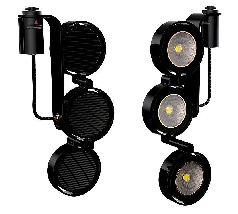 Deformation Track Light | Red Dot Design Award
