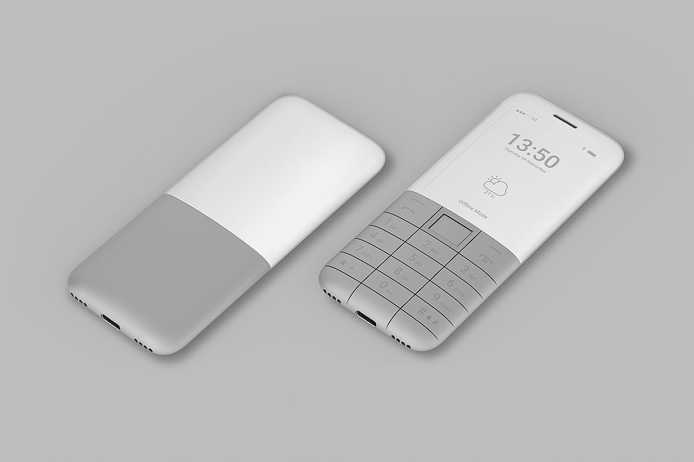 Offline Phone | Red Dot Design Award