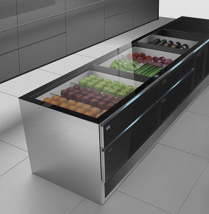 Cupboard Refrigerator | Red Dot Design Award