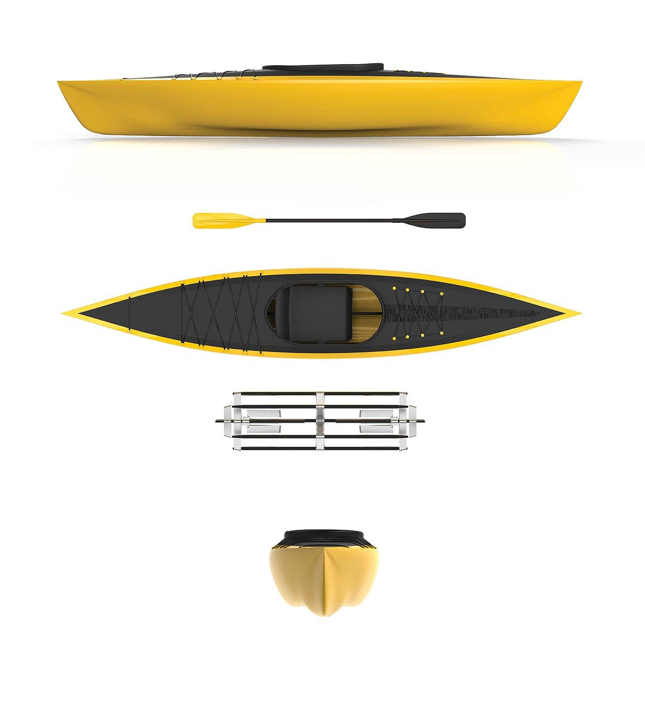 Easy, Folding Kayak | Red Dot Design Award