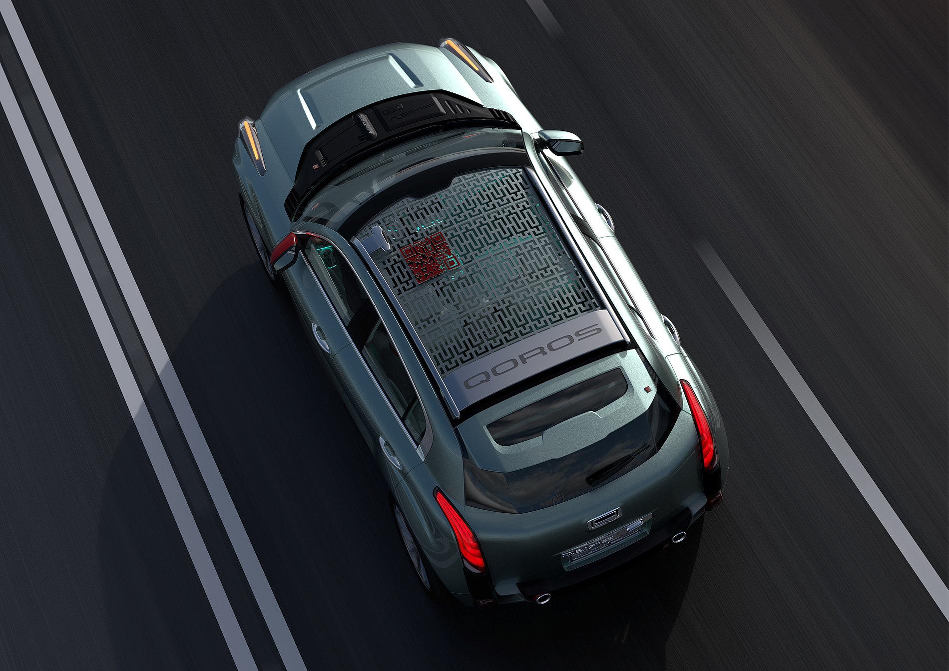 Qoros 2 PHEV Concept | Red Dot Design Award
