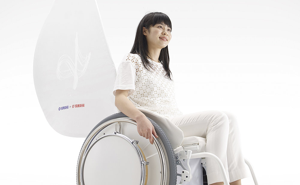 &Y01 (Electrically Power-Assisted Wheelchair That Plays Music) | Red Dot Design Award