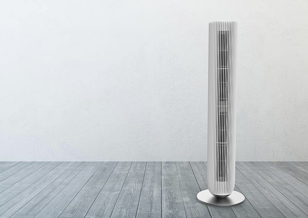 Multi-dimensional Tower Fan | Red Dot Design Award