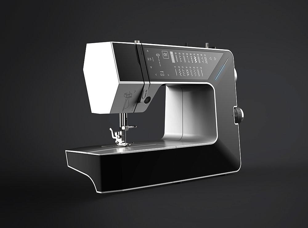 E-Ink Display Sewing Machine   Red Dot Design Award