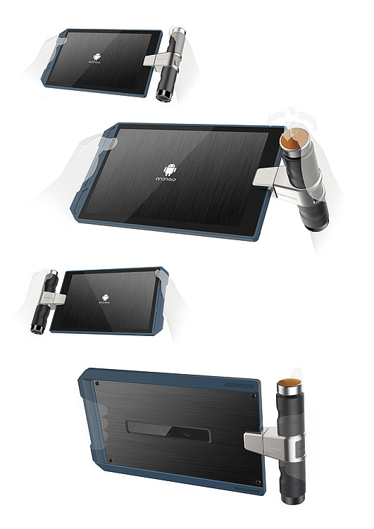 Armstrong Industry Tablet | Red Dot Design Award