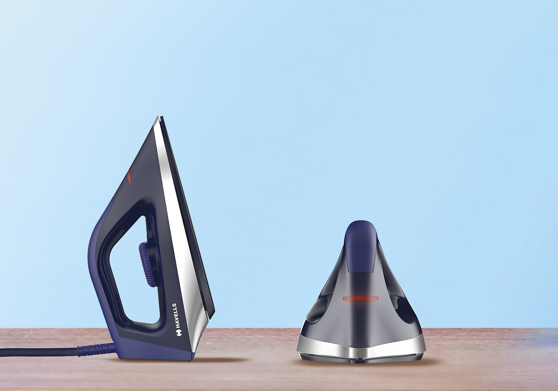 Stealth Dry Iron - Safe and Uniform Heating | Red Dot Design Award