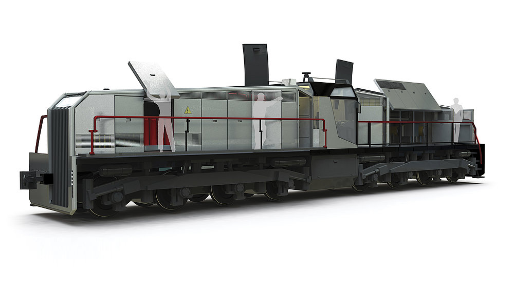Heavy Shunting Locomotive TEM8A | Red Dot Design Award