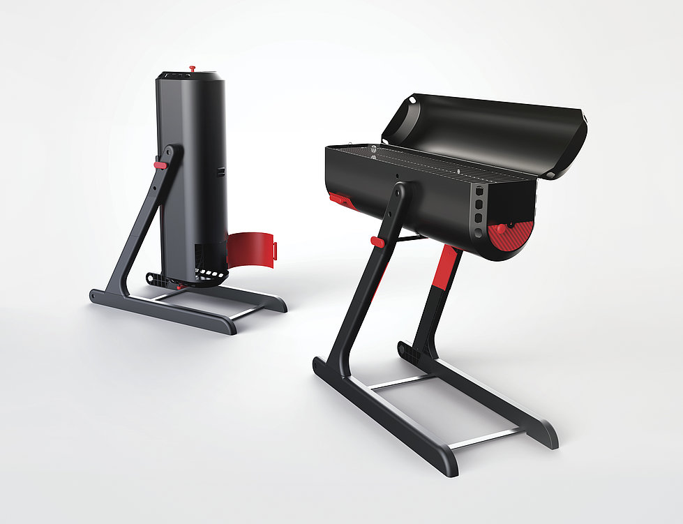 FlameOn - Barbecue Grill | Red Dot Design Award