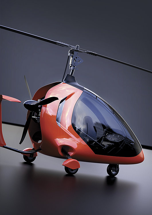 Twistair - A Modular Gyroplane | Red Dot Design Award