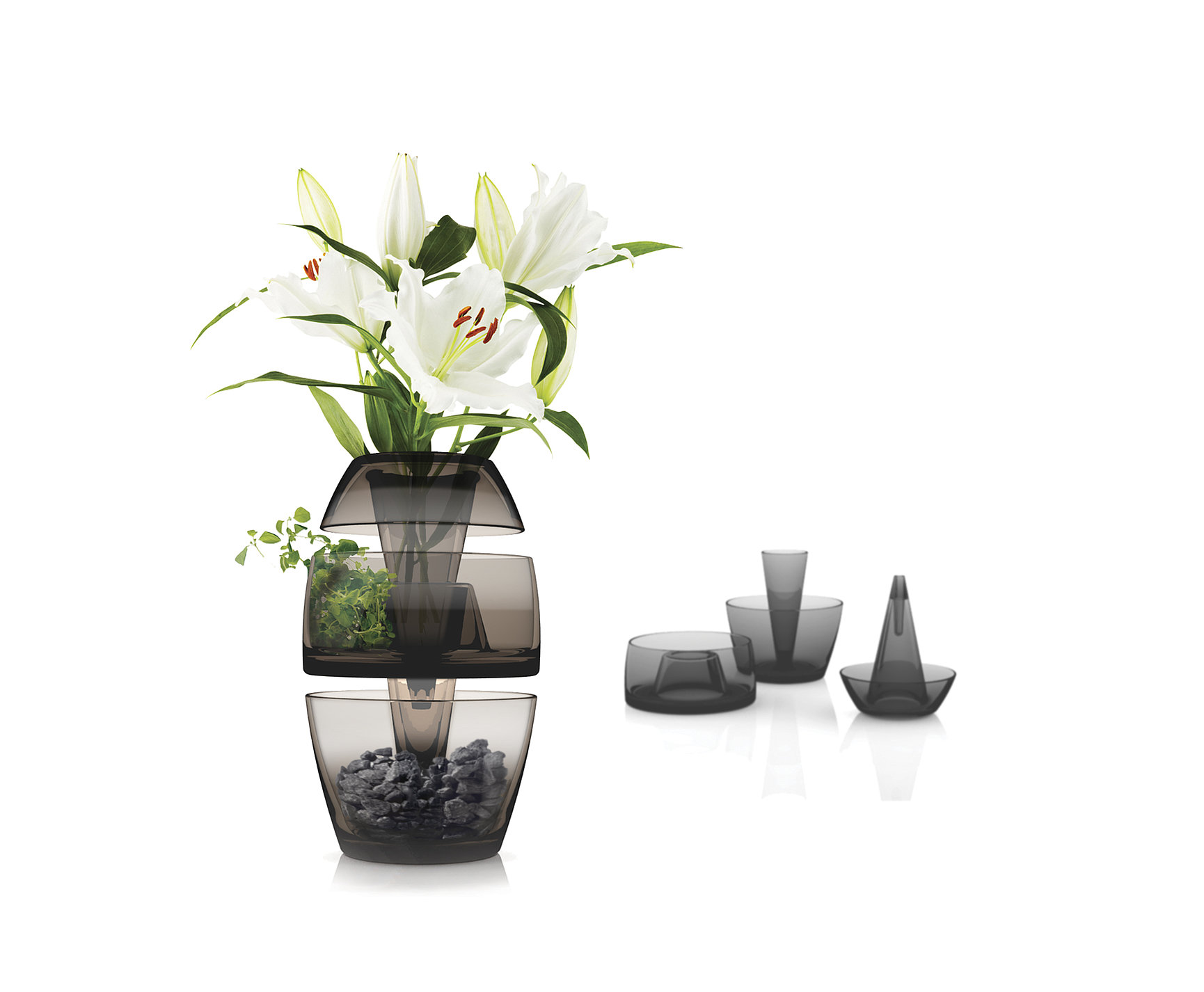 Stackable Vase | Red Dot Design Award