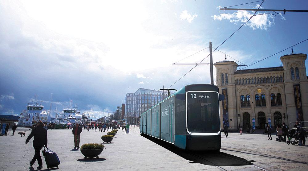 2020 Oslo tram | Red Dot Design Award