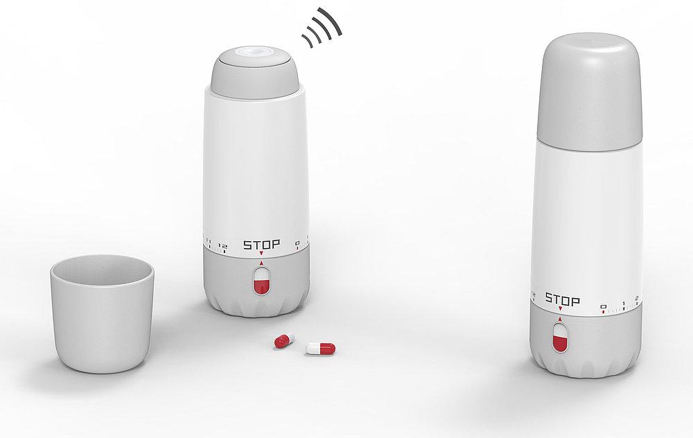 Timer Bottle | Red Dot Design Award