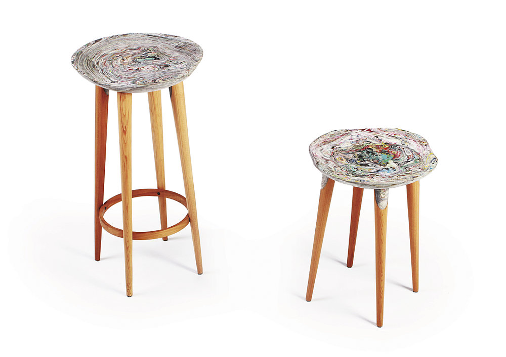 Flow the Recycled-Paper Chair | Red Dot Design Award