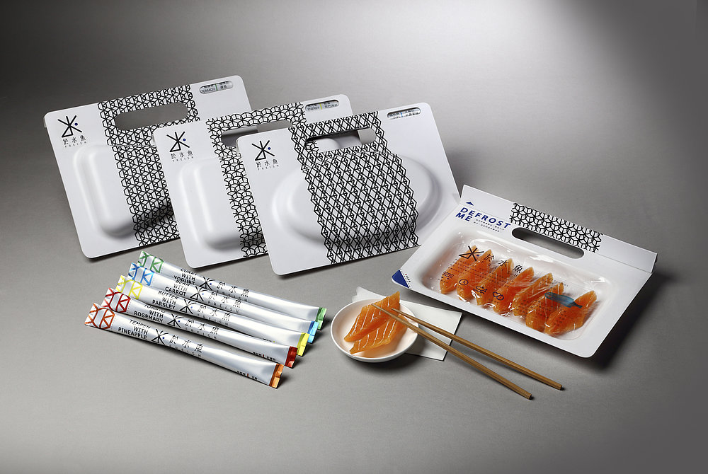 Easy-defrost Fish Package | Red Dot Design Award