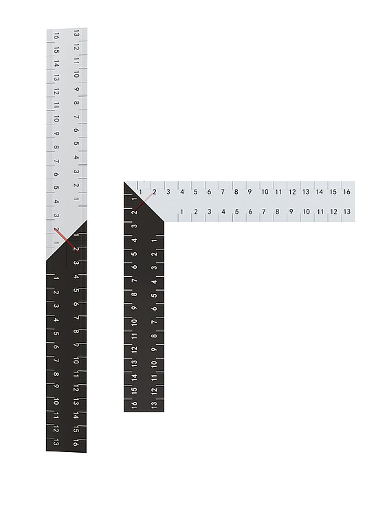 Into A Right Angle Ruler | Red Dot Design Award